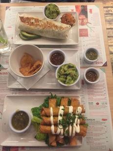 Dinner at Lupitas