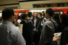 congestion on the tube