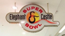 super bowl sign