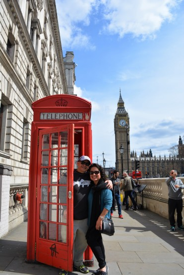 big ben phone booth