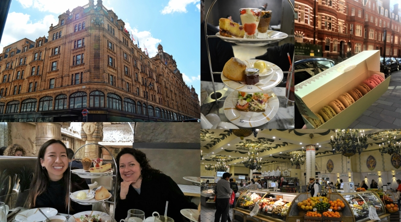 harrods Collage