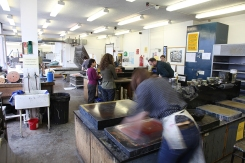 Camberwell print workshop