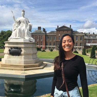 LSC intern at Kensington Palace