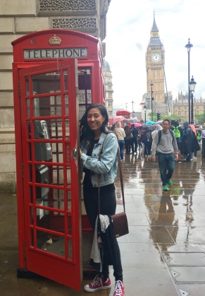 LSC intern at Westminister