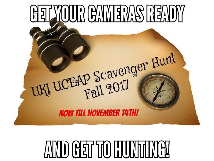 UKI UCEAP Scavenger Hunt