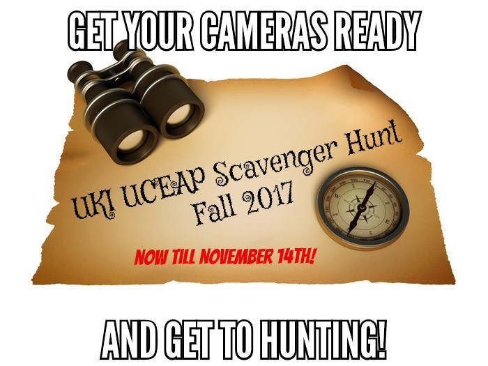 UKI UCEAP Scavenger Hunt