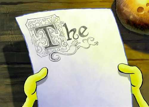 spongebob-the-essay-font