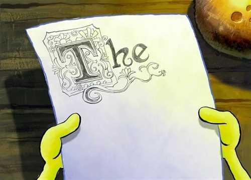 spongebob-the-essay-font